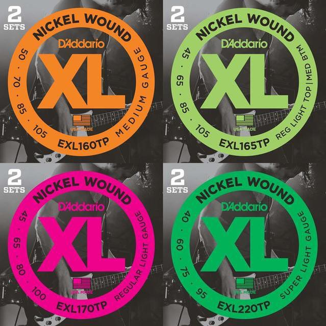 D'addario/ベース弦 XL Nickel Twin Packs(2セッ...