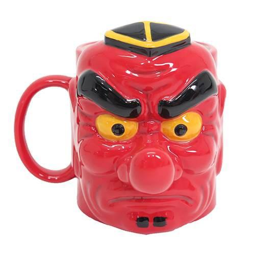 ◆ 陶器製マグカップ/天狗(アニメグッズ)プレゼ...