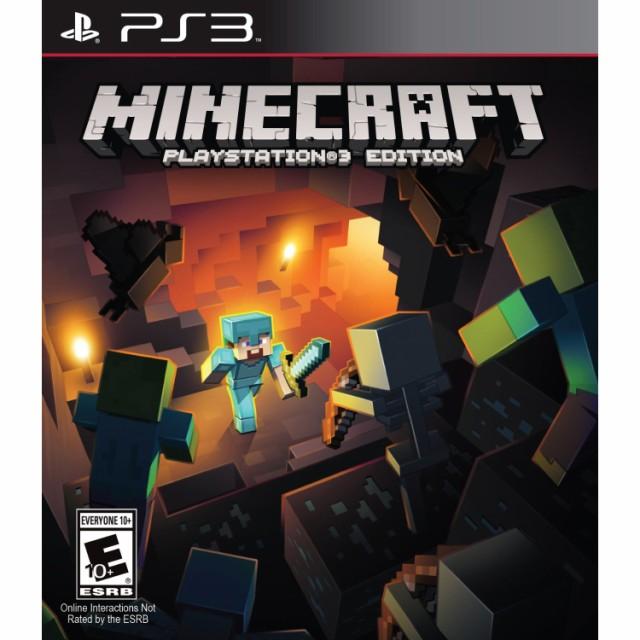 在庫あり[メール便OK]【新品】【PS3】Minecraft Playstation 3 Edition (マインクラフト)【海外北米版】※国内版本体&日本語表示OK