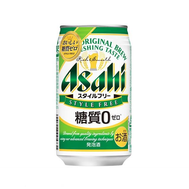 アサヒ スタイルフリー 糖質ゼロ 発泡酒 350m...