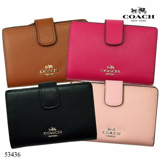 new products 7c496 63e53 コーチ COACH 二つ折り財布 F53562 ラグジュアリー シグネチャー ...