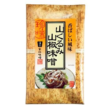 香ばしい風味山くるみ山椒味噌(竹紙)(信州長野...