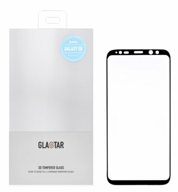 ガラスフィルム Galaxy S8  全面保護 3D強化  シ...