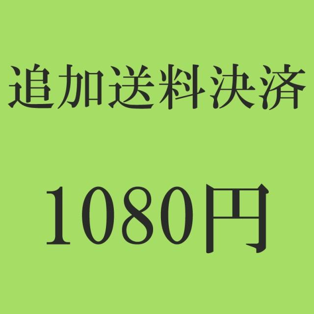追加送料決済 1080円