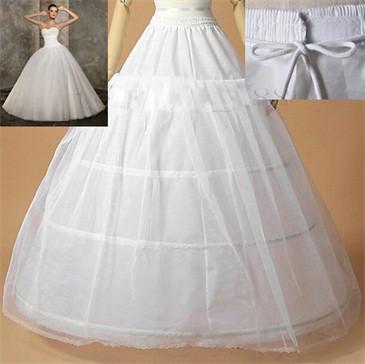 大人ドレス用 4段ワイヤー パニエ 簡易式ロングド...