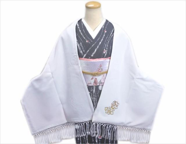 (少難有り)ベルベット刺繍ショール(ストール・...