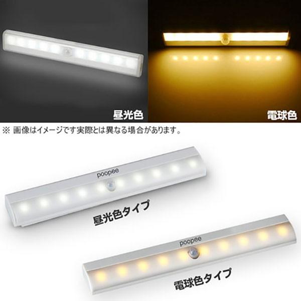 人感センサーライト 10灯 LEDライト 照明 人感 LE...