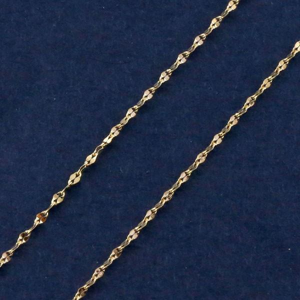 ネックレス 10金 ネックレスチェーン 40cm チェー...