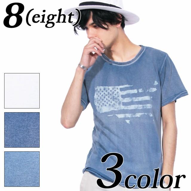 Tシャツ メンズ 半袖 デニム 全3色 新作 Tシャツ ...