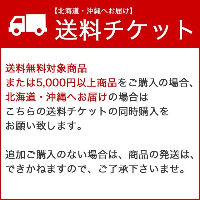 【北海道・沖縄へお届けの場合】追加送料チケット...