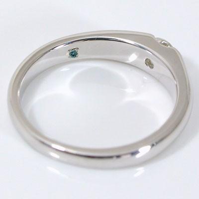 エンゲージ マリッジ リング婚約 結婚 指輪の内側...