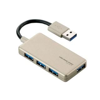 USB ハブ 3.0 2.0対応 HUB 4ポート バスパワー ケ...