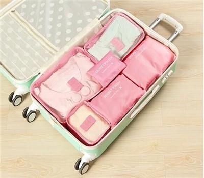 旅行用荷物の仕分け 収納バッグ/収納ポーチ/6点セ...