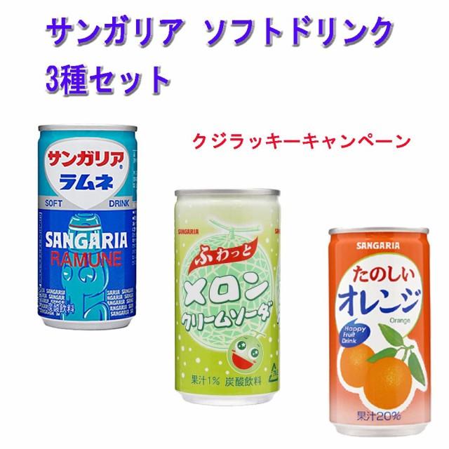サンガリア ソフトドリンクシリーズ たのしいオレ...