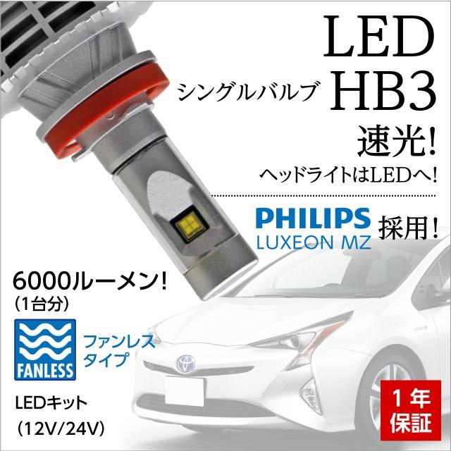 送料無料 LEDヘッドライト HB3  LED ハイビーム P...