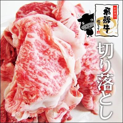 【送料無料・訳あり】飛騨牛切り落とし肉250g×2...