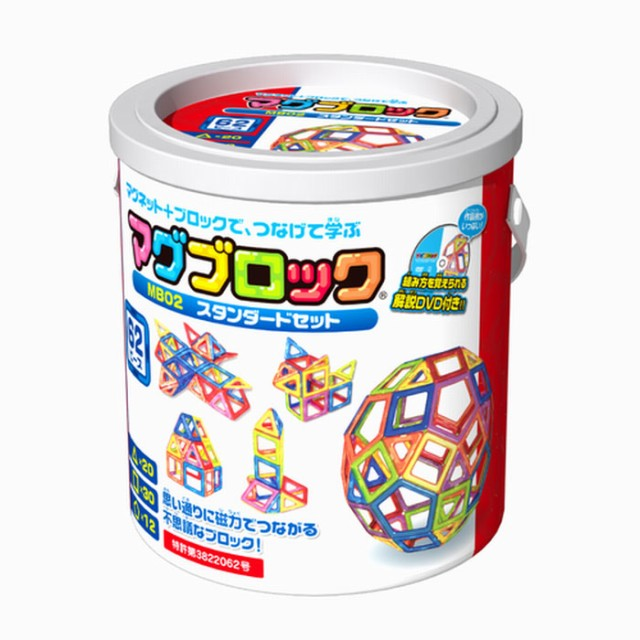 【送料無料】 磁石でつながる不思議なブロック マ...