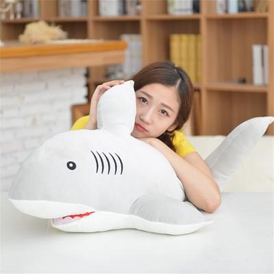 ぬいぐるみ クッション 特大 サメ 超柔らかい鮫...