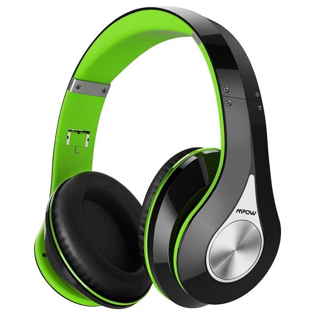Mpow Bluetooth ヘッドホン 高音質 折畳式 ケーブ...