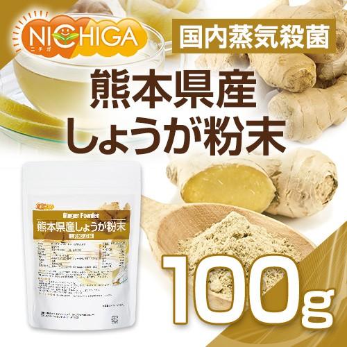 熊本県産しょうが粉末 100g(スプーン付) 【...