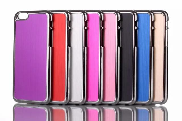 iPhone6 /6Plus 耐衝撃アルミ ケース/カバー 全8...