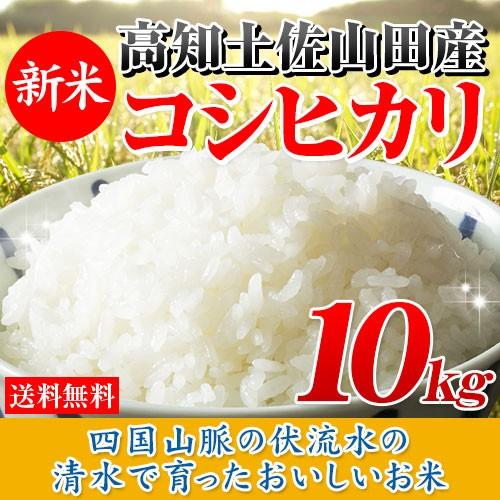 30年産 高知県産コシヒカリ10kg(5kg×2袋) 送料...