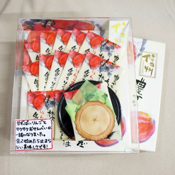 りんご乙女20枚入(信州長野県のお土産 お菓子 お...