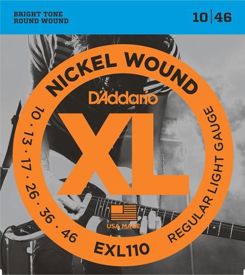 D'addario/エレキ弦 EXL110【ダダリオ】