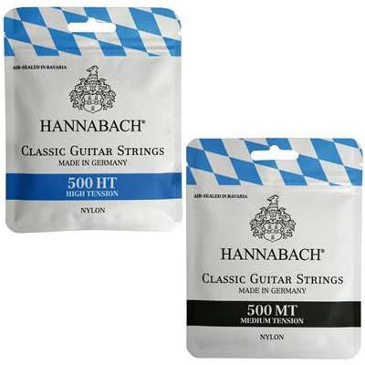 HANNABACH/クラシックギター弦 500【ハナバッハ】...