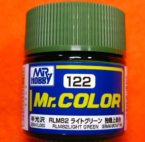 【遠州屋】 Mr.カラー (122) RLM82 ライトグリー...