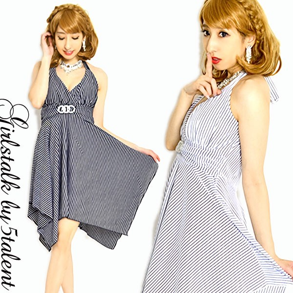 【Lサイズ】人気の胸切り替えAライン裾ギザ★正...