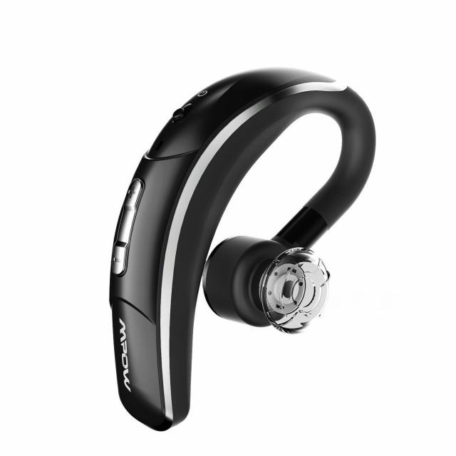 Mpow Bluetooth 片耳 ワイヤレスイヤホン 車用 ビ...