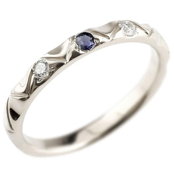 指輪 シルバー925 ピンキーリング アイオライト ...