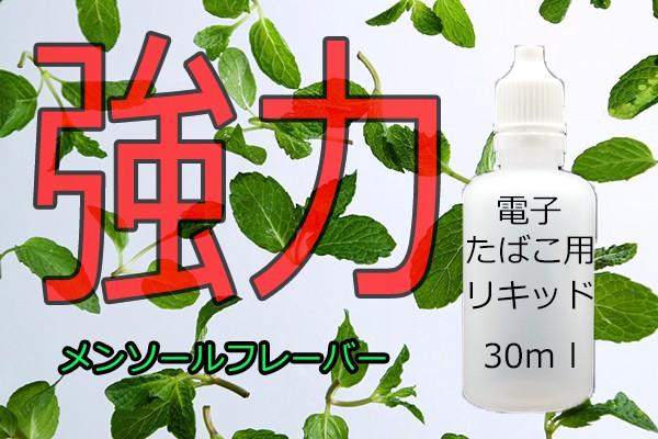 汎用 液体 リキッド 30ml 強烈メンソール eGO-T ...
