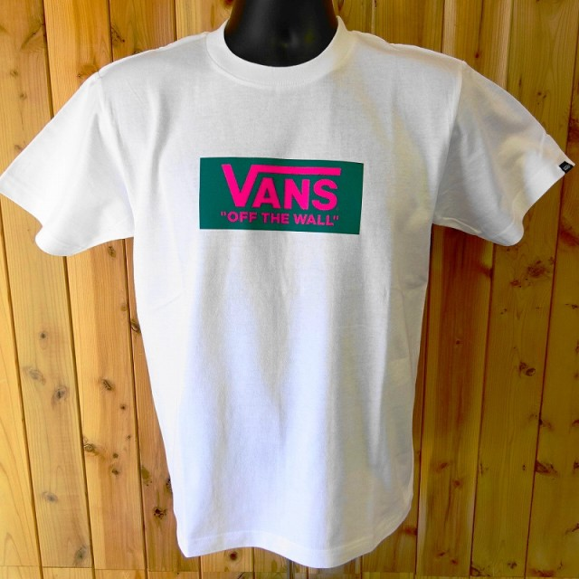 バンズ VANS ボックスロゴ 半袖Tシャツ VA17HS-M...