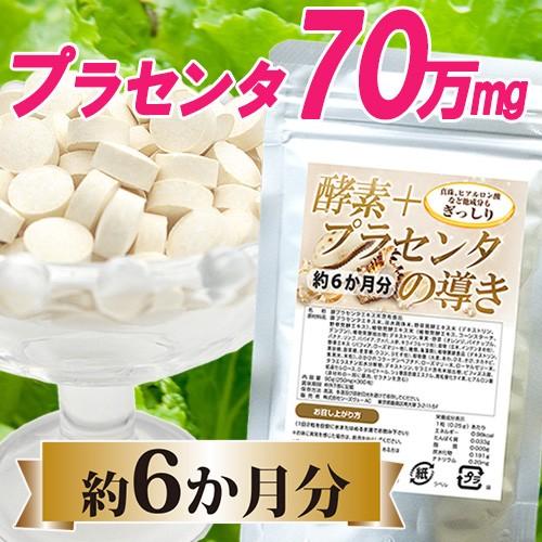 【送料無料】酵素+プラセンタの導き360粒約6か月...
