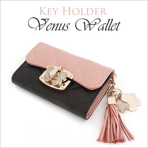 キーケース キーホルダー Venus Leather Key Hold...