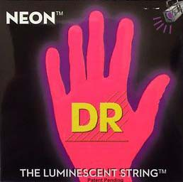 DR/NEON Guitar String Neon Red DR-NRE エレキギ...