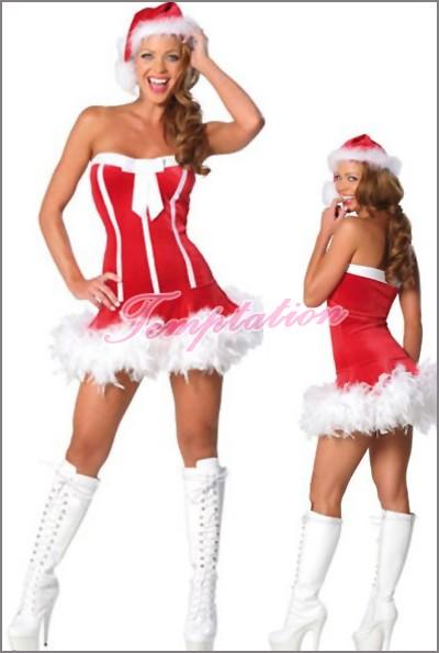 キュートな サンタクロースコスプレ衣装 クリス...