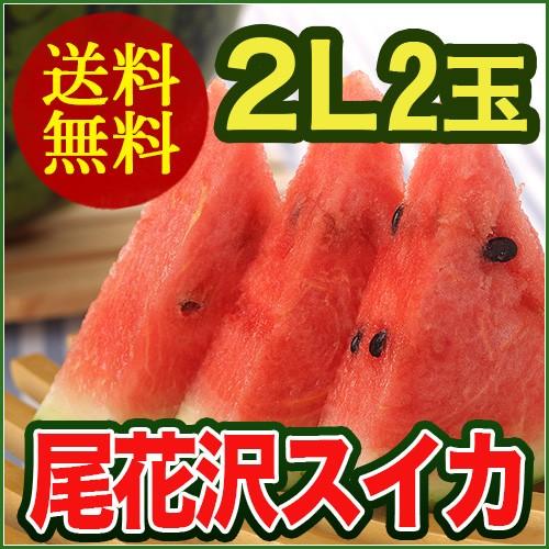 【訳あり】 山形県産 尾花沢 すいか 2Lサイズ (...