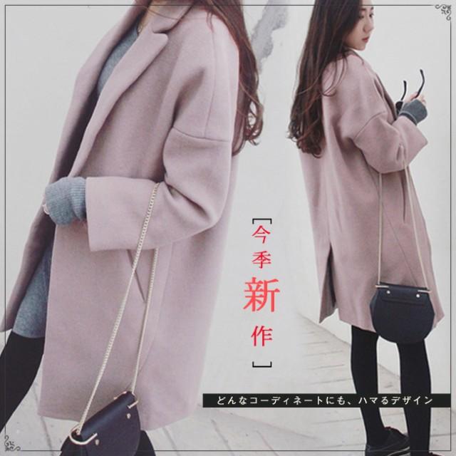 ファッション 韓国風 レディース服 コクーン チェ...
