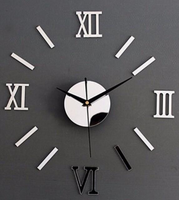 送料無料 時計 壁時計 ウォールクロック シルバー...