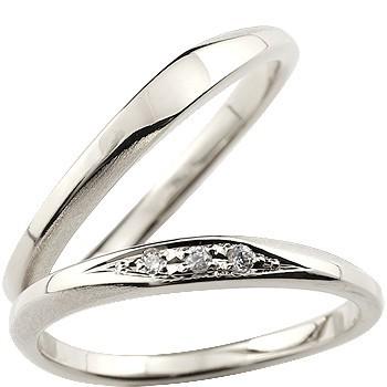 ペアリング 指輪 リング ダイヤモンド 結婚指輪 ...