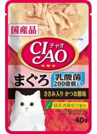 【いなばペット】チャオパウチ 乳酸菌入り まぐ...