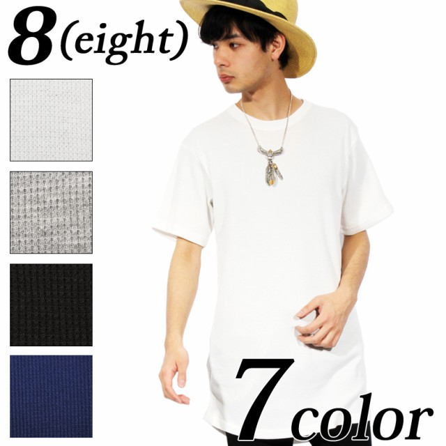 Tシャツ メンズ 半袖 ロング丈 全7色 新作 半袖T...