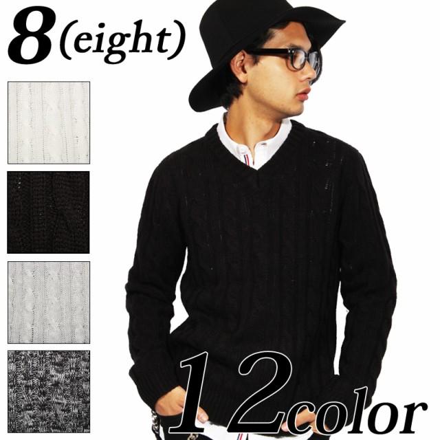 ニットセーター メンズ ニット セーター 全12色 ...