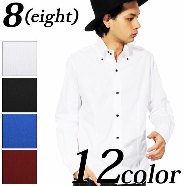 シャツ メンズ 長袖 シャツ 全12色 日本製 ブロー...