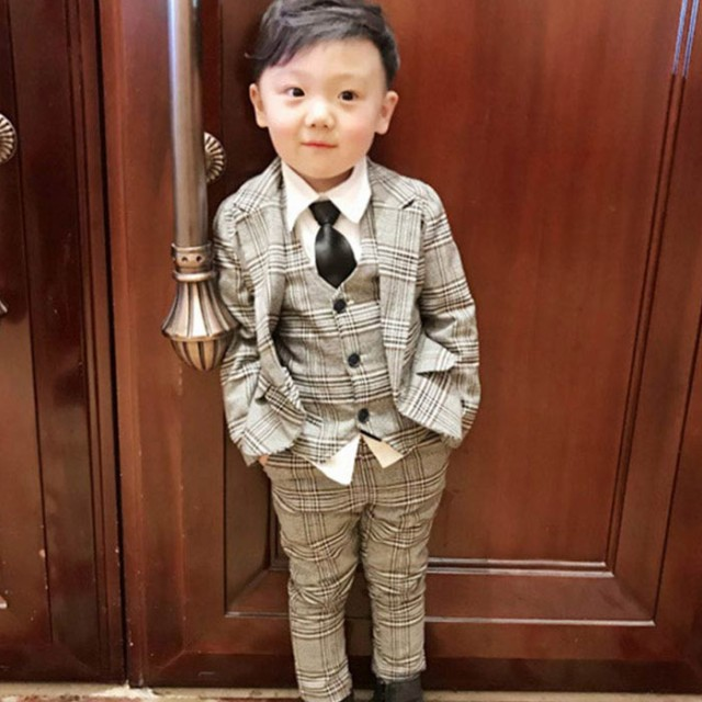 子供スーツ 3点セット フォーマル 子供発表会入学...