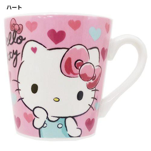 ◆【新生活】ハローキティ マグカップ/ハート (...