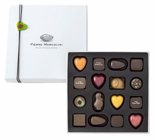 ピエールマルコリーニ チョコレート レ バレンタイン セレクション バレンタイン ホワイトデー (16個入)